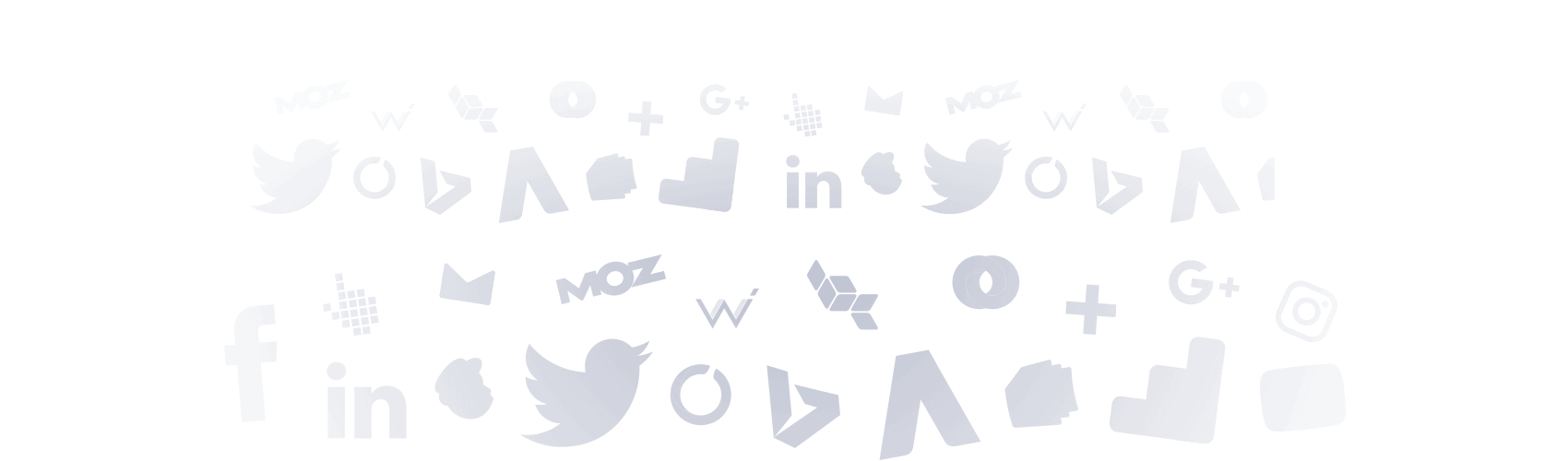 social media report background