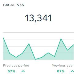 Backlinks searchmetrics dashboard