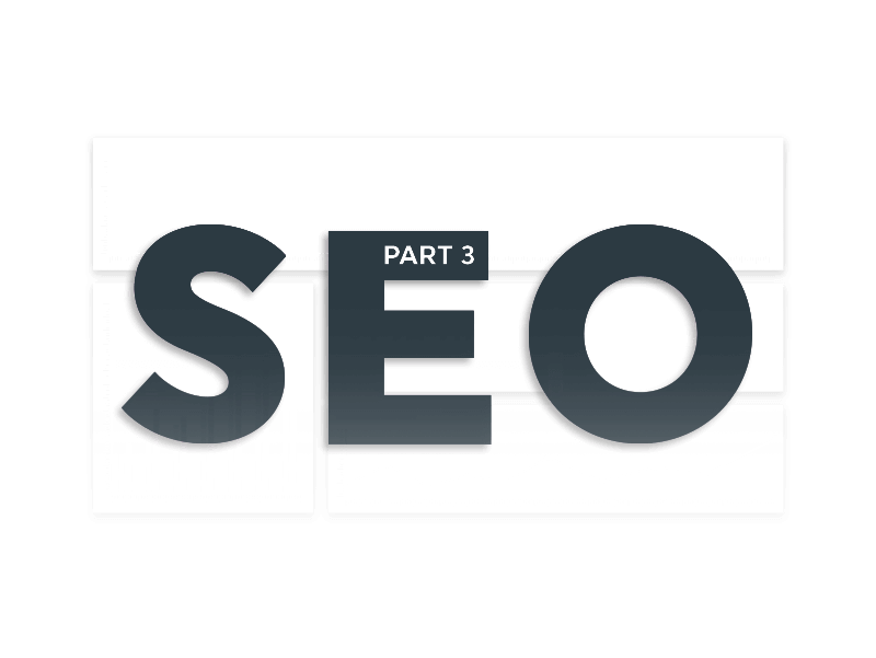 SEO reporting part 3